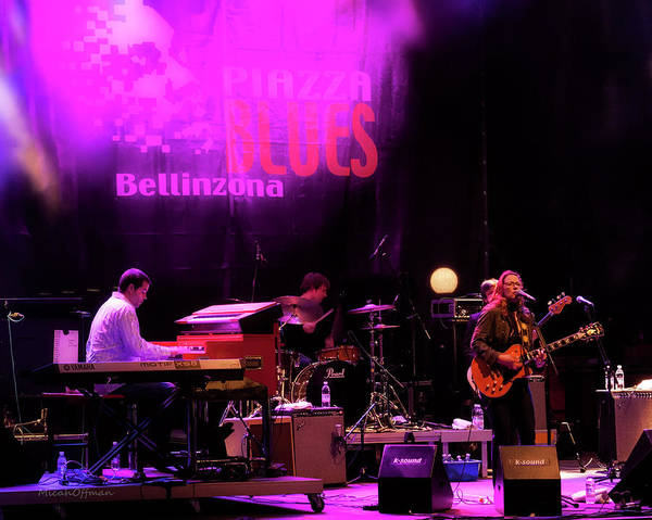 Allman Brothers Band Photograph - Susan Tedeschi - July 2009 Bellinzona Ch by Micah Offman