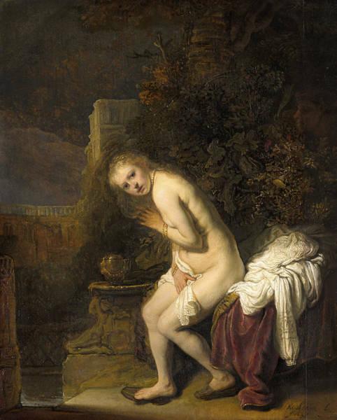 Vice Painting - Susanna by Rembrandt van Rijn