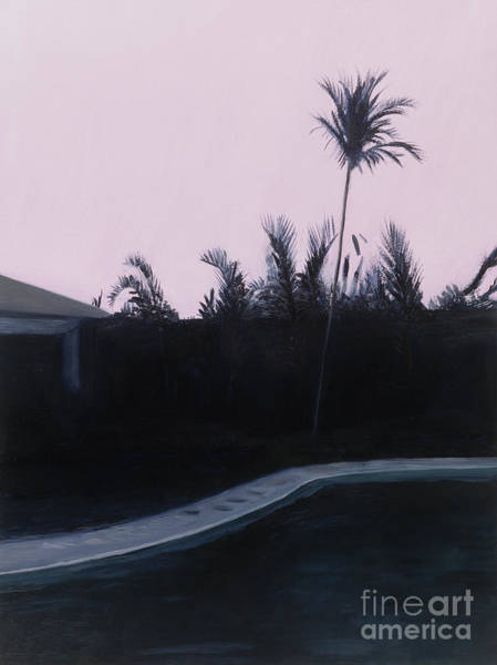Pool Painting - Susan's And Roy's Pool by Alessandro Raho