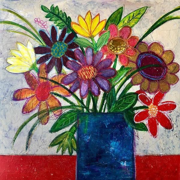 Painting - Susans Bouquet by Monica Martin