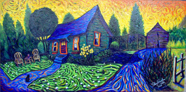 Flagstaff Painting - Susan's House by Steve Lawton