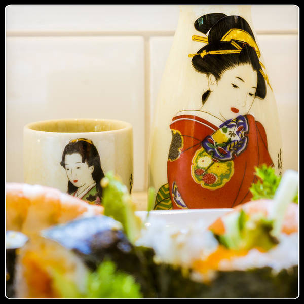 Wall Art - Photograph - Sushi Night by Michel Emery