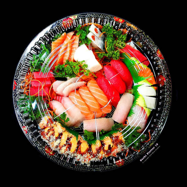 Art Print featuring the photograph Sushi Platter 19 by Brian Gryphon