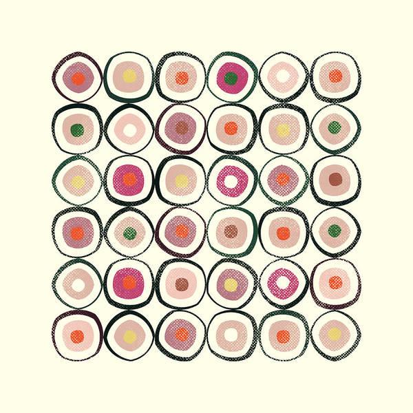 Art Nouveau Mixed Media - Sushi by Tonya Doughty
