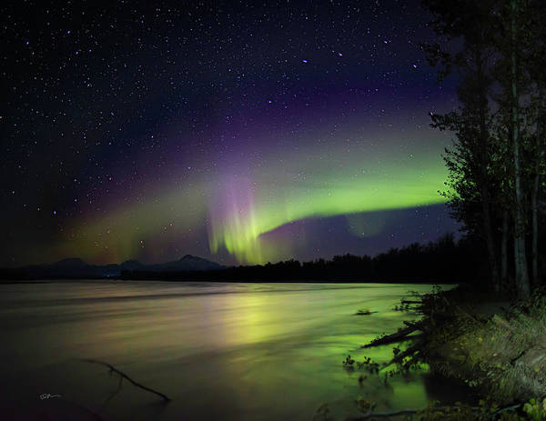 Photograph - Susitna Glow by Ed Boudreau