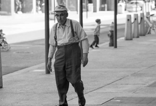Photograph - Suspenders by Mike Evangelist