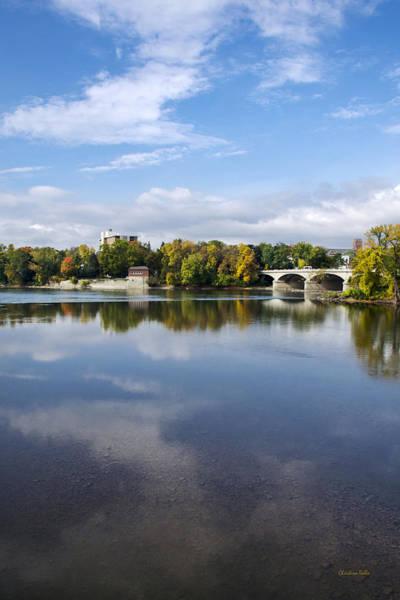 Photograph - Susquehanna River Binghamton Ny by Christina Rollo
