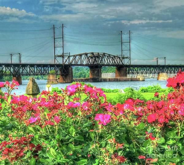 Wall Art - Photograph - Susquehanna River Bridge by Debbi Granruth