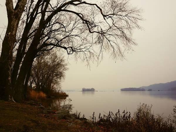 Photograph - Susquehanna River Near Veterans Memorial Bridge by Dutch Bieber