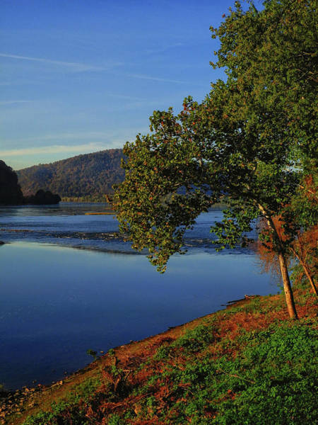 Photograph - Susquehanna River From The At  by Raymond Salani III