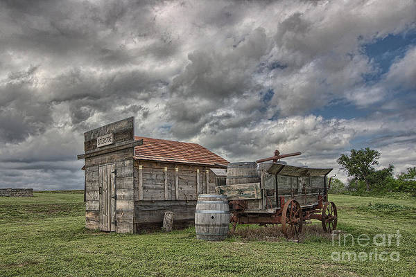 Photograph - The Sutler's Store by Sam Stanton