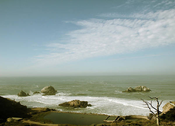 Photograph - Sutro Baths San Francisco by Linda Woods