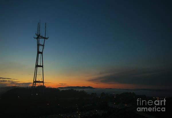 Wall Art - Photograph - Sutro Sunset by Jennifer Ramirez