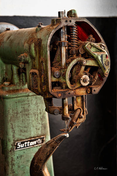 Photograph - Suttan Sewing Machine by Christopher Holmes
