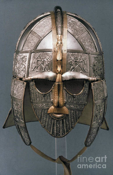 Painting - Sutton Hoo Helmet by Granger