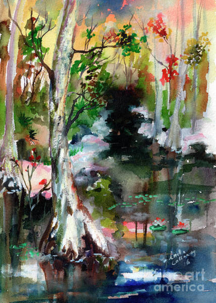 Painting - Suwannee River Impression by Ginette Callaway