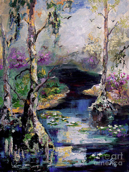 Painting - Suwannee River Black Water Magic by Ginette Callaway