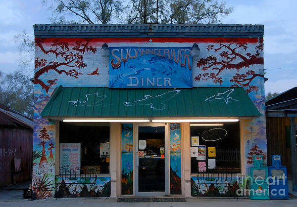 Thompson River Photograph - Suwannee River Diner by David Lee Thompson