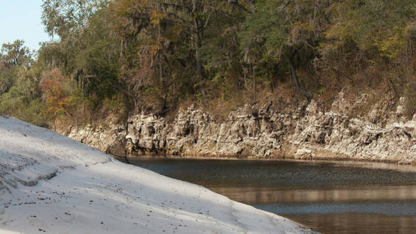 Photograph - Suwannee River Sand Water And Rock by Paul Rebmann