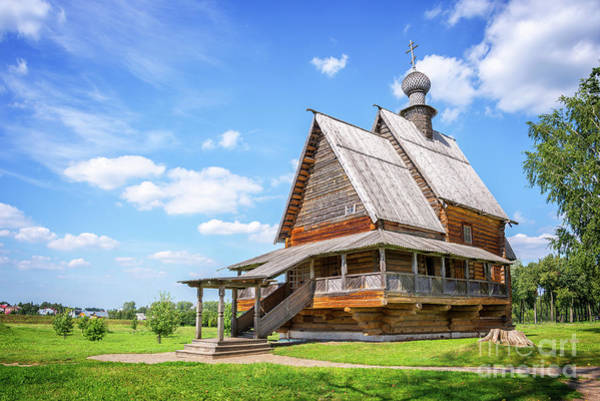 Old Church Photograph - Suzdal by Delphimages Photo Creations