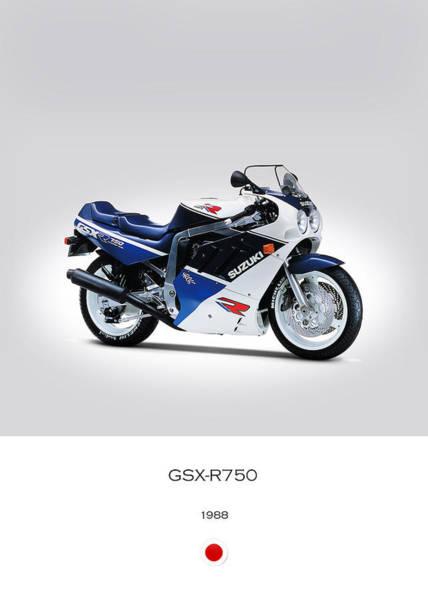 Gsx Photograph - Suzuki Gsx-r750 1988 by Mark Rogan
