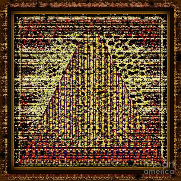Digital Art - Swad-egypt Pyramid Style by Swedish Attitude Design