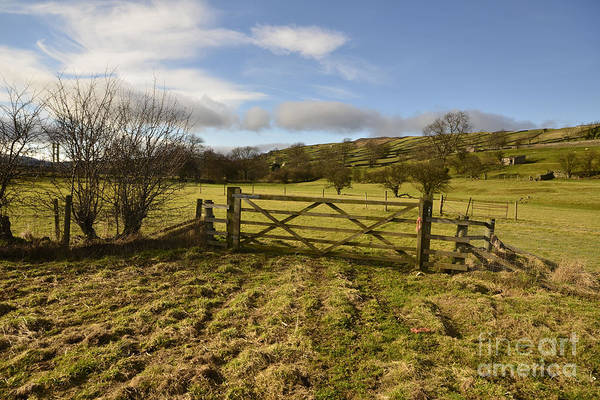 Yorkshire Wall Art - Photograph - Swaledale Walks by Smart Aviation