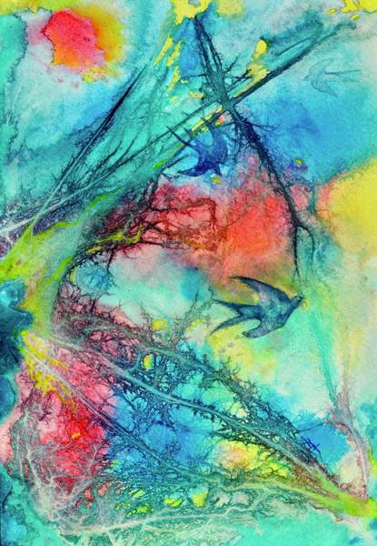 Painting - Swallow Storm by Beverley Harper Tinsley