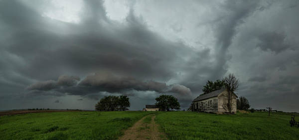 Shelf Cloud Photograph - Swan by Aaron J Groen