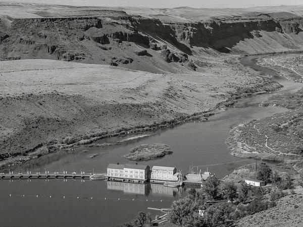 Swan Falls Dam Art Print
