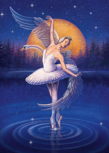 Painting - Swan Lake by Anne Wertheim