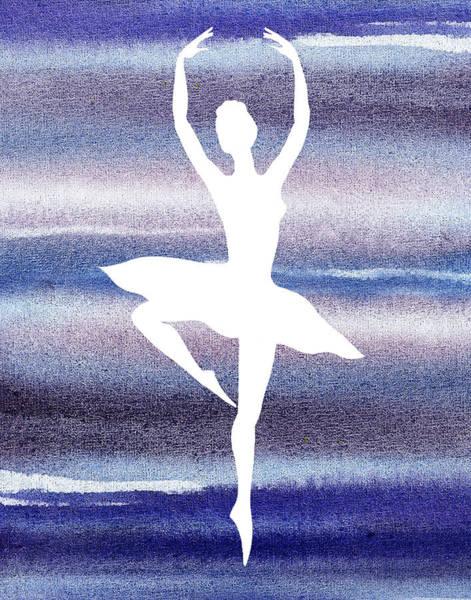Girly Painting - Swan Lake Dance Ballerina by Irina Sztukowski