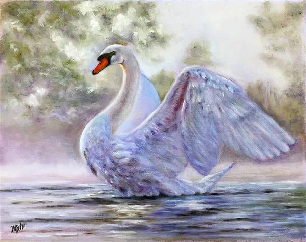 Wall Art - Painting - Swan Lake by Dr Pat Gehr