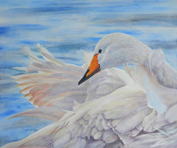 Painting - Swan Lake by John Neeve