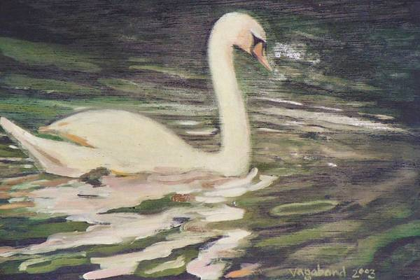 Painting - Swan Lake by Suzn Smith