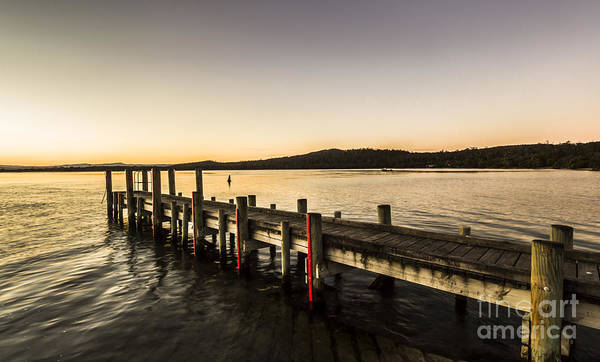 Swan Photograph - Swan River Jetty by Jorgo Photography - Wall Art Gallery