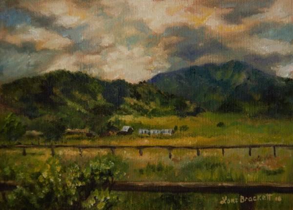 Painting - Swan Valley Hillside by Lori Brackett