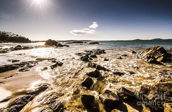 Wall Art - Photograph - Swansea Tasmanian Beach Landscape by Jorgo Photography - Wall Art Gallery