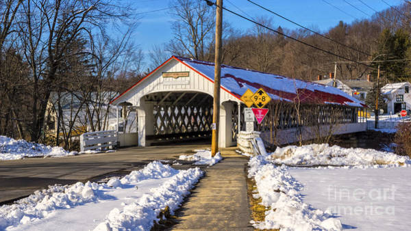 Photograph -  Ashuelot Covered Bridge. by New England Photography