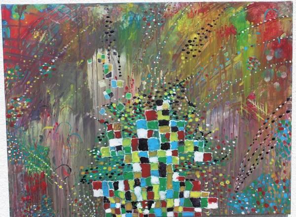 Wall Art - Painting - Swarming by Klaudia Gyori Komaromi