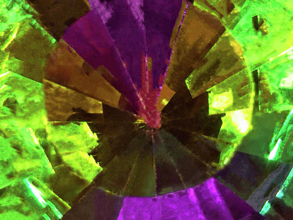Photograph - Swarovski Vitrail Medium Crystal - The Art Glass Project by Susan Maxwell Schmidt