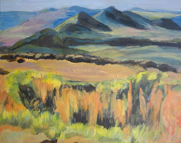 Painting - Swartberge by Jillian Goldberg