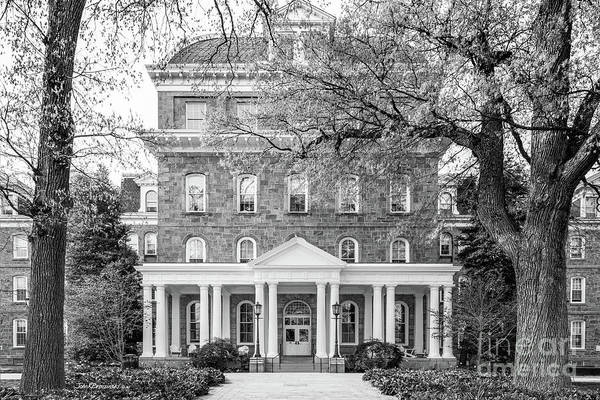 Photograph - Swarthmore College Parrish Hall by University Icons