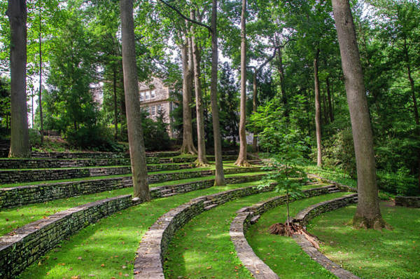Photograph - Swathmore College Ampitheater by Bill Cannon