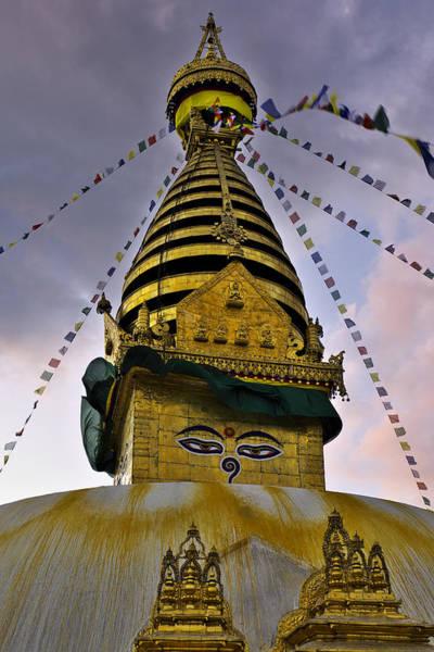 Photograph - Swayambhunath Stupa by Ivan Slosar