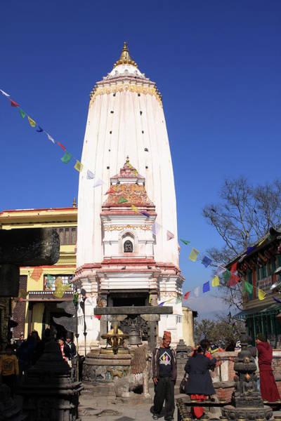 Photograph - Swayambhunath Stupa, Kathmandu, Nepal by Aidan Moran