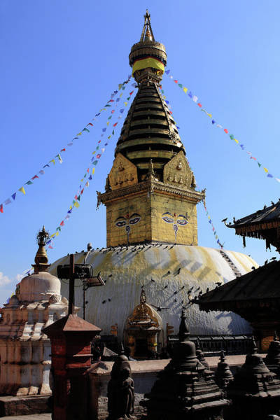Photograph - Swayambhunath Temple Complex by Aidan Moran