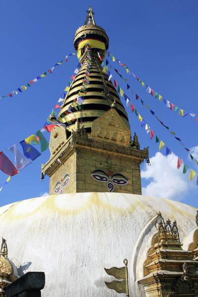 Photograph - Swayambhunath Temple, Kathmandu by Aidan Moran
