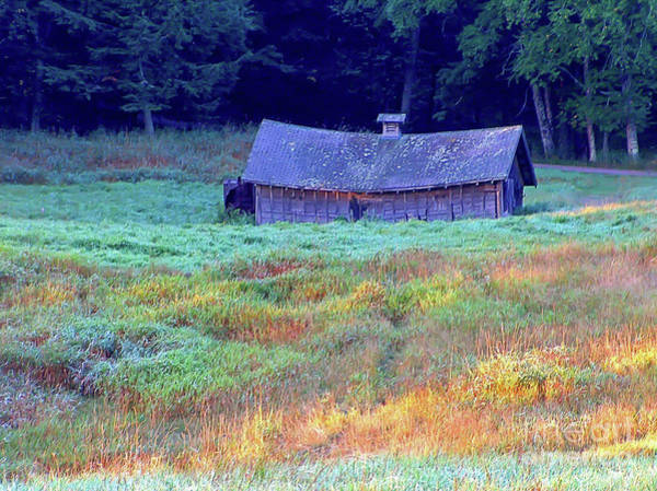 Photograph - Swayback Hay Barn by Kevin McCarthy