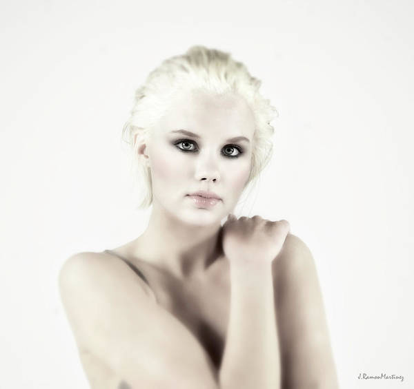 Wall Art - Photograph - Swedish Girl Portrait I by Ramon Martinez